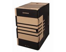 Archívny box, A4, 200 mm, kartón, DONAU, prírodný