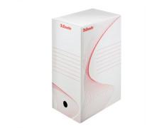 """Archívny box biely, A4, 150 mm, kartón, ESSELTE """"Standard"""", biely"""