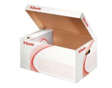 archivačná škatuľa biela, so sklápacím vekom
