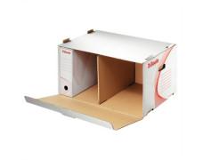 archivačná škatuľa biela, s predným otváraním