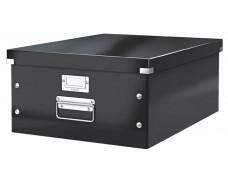 """Archivačná krabica, A3, LEITZ """"Click&Store"""", čierna"""