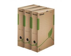 """Archívny box """"Eco"""", 80 mm, hnedý"""