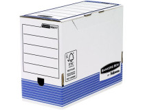 """Archívny box, 150 mm, """"BANKERS BOX® SYSTEM by FELLOWES®"""", modrý"""