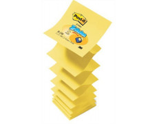"Samolepiaci bloček, ""Z"", 76x76 mm, 100 listov, 3M POST IT, žltý"