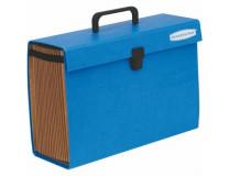 """Aktovka s držadlom, kartónová, 19 priehradiek, FELLOWES """"Bankers Box Handifile"""", modrá"""