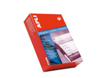 Etikety, do ihličkových tlačiarní, 127x48,7 mm, APLI, 3000 etikiet/bal