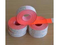 Cenové etikety 19x16 mm, METO, červené