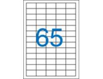Etikety, univerzálne, 38x21,2 mm, VICTORIA, 6500 etikiet/bal