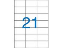 Etiketa, univerzálne, 70x42,4 mm, VICTORIA, 2100 etikiet/bal