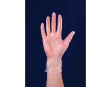 Vinylové rukavice, jednorazové, veľkosť: S/7