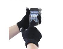 Touchscreen pletené rukavice, L/XL
