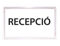 Informačná tabuľa, samolepiaca, 110x150 mm, PANTA PLAST