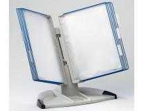 """Držiak na prezetačné tabule, stolový, A4, 10 ks prezentačných tabuľ, TARIFOLD """"Design"""", modrý"""