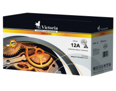 12A Toner do tlačiarní LaserJet 1010, 1012, 1015, VICTORIA čierna, 4k