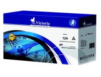 12A toner k tlačiarňam LaserJet 1010, 1012, 1015, VICTORIA, čierny, 3K