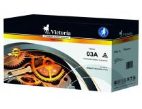 03A Laserový toner k tlačiarňam, LaserJet 5P, 5MP, 6P, VICTORIA čierna, 4k