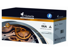 06A Toner k tlačiarňam LaserJet 5L, 6L, 3100, VICTORIA čierny, 2,5k