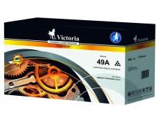 49A Toner k tlačiarňam LaserJet 1160, 1320, VICTORIA čierna, 2,5k