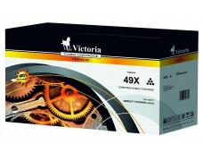 49X Toner k tlačiarňam, LaserJet 1320, 3390, 3392, VICTORIA čierna, 6k