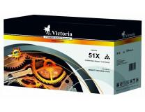 51X Toner k tlačiarňam LaserJet P3005, M3027MFP, VICTORIA čierna, 13k
