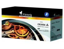 255X toner do tlačiarne LaserJet P3015, VICTORIA, čierny, 12,5k
