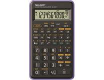 """Kalkulačka, vedecká, 146 funkcií, SHARP """"EL-501TBVL"""", fialová"""