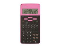 """Kalkulačka, vedecká, 273 funkcií, SHARP """"EL-531"""", pink"""