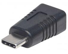 Adaptér, USB Micro-B-USB-C, MANHATTAN