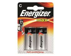 "Batéria, C baby, 2 ks, ENERGIZER ""Max"""