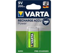 """Batérie """"Power Accu"""", 9V, 1x, E 200 mAh"""