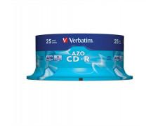"CD-R 700 MB, 52x ,Crystal, AZO, cake box, VERBATIM ""DataLife Plus"""
