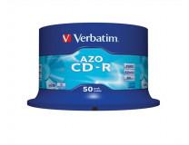 "CD-R 700 MB, Crystal, AZO, 700MB, 52x, cake box, VERBATIM ""DataLife Plus"""