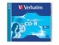 "CD-R Music 700 MB, 16x, 80 min, ""Live It"", klasický obal"