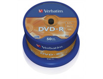 DVD-R 4,7 GB, 16x, cake box (AZO)