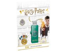 "USB kľúč, 32GB, USB 2.0, EMTEC ""Harry Potter Slytherin"""