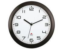 """Nástenné hodiny, 30 cm, ALBA """"Hornew"""", čierna"""