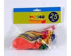 Balón, 26 cm, perleťový, mix farieb