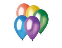Balón, 26 cm, rôzne, metalické
