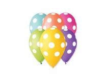 Balón, 30 cm, bodkovaný
