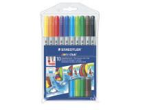 "Fixky, 1-3 mm, obojstranné, STAEDTLER ""Noris Club"", 10 rôznych farieb"