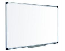 Biela tabuľa, smaltovaná, matná,  120x240 cm, hliníkový rám, VICTORIA