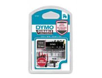 """Kazeta k štítkovačom, 12 mm x 3 m, odolná, DYMO """"D1"""", čierno-biela"""