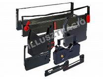 Páska do písacieho stroja, 13 mm dvojkotúčová,  VICTORIA GR 1, čierno-červená