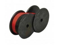 Farbiaca páska do kalkulačiek, do písacích strojov, 13 mm, 2 cievky, VICTORIA GR 51, červeno-čierna