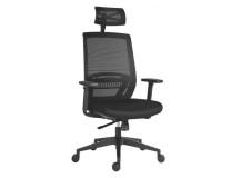 Kancelárska stolička Above, čierna