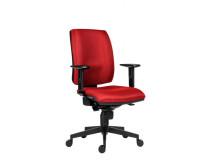 Kancelárska stolička 1380 Flute/Rahat SYN  D3 červená