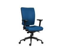 Kancelárska stolička 1380 Flute/Rahat SYN  D4 modrá