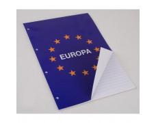 Blok poznámkový Notes Europa A4 50 listov linajkový