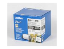 Samolepiace etikety Brother QL 102x51 mm čiarové kódy biele