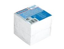 Blok kocka nelepená 83x83x75 mm biela